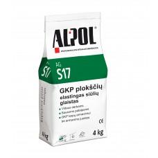 Elastingas gipsinis glaistas siūlėms ALPOL AG S17 4 Kg