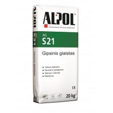Išlyginamasis gipsinis glaistas ALPOL AG S21 20 Kg