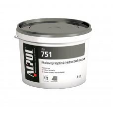 Hidroizoliacinė tepamoji membrana ALPOL AH 751 12 Kg