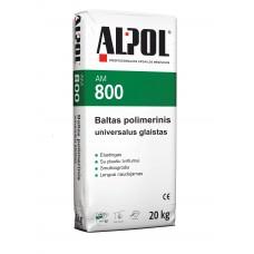 Baltas, polimerinis išlyginamasis glaistas  ALPOL Putz S AM 800 20 Kg