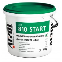 Universalus polimerinis glaistas prieš dažymą ALPOL AM 810 PUTZ M START 10 Kg