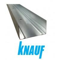 Horizontalus sienų profilis KNAUF UW-75/40/4000 (pakuotė 8 vnt.)
