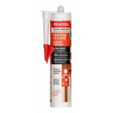 Dažomas silikoninis sandariklis Penosil Painters silikone (greitai džiustantis) 310 ml