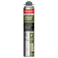 Garso ir šilumos izoliacinės putos Penosil Windows & Door Elastic (elastingos) 750 ml