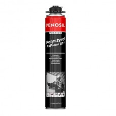 Klijavimo putos polistiroliui Penosil Polystyrol Fix Foam 877 (pistoletinės) 750 ml